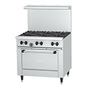 Garland Sunfire 6-Burner LP Gas Range 36\x22W