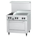Garland Sunfire 2-Burner LP Gas Range with Griddle 36\x22W