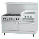 Garland Sunfire 6-Burner LP Gas Range with Raised Griddle and Broiler 60\x22W