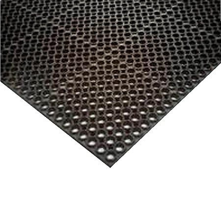 3' x 5' Black Heavy Weight Anti-Fatigue Kitchen Floor Mat