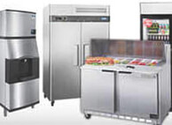 Commercial restaurant quality refrigeration and freezers