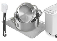 Commercial restaurant quality food preparation equipment and supplies