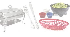 Restaurant dining room service and supplies