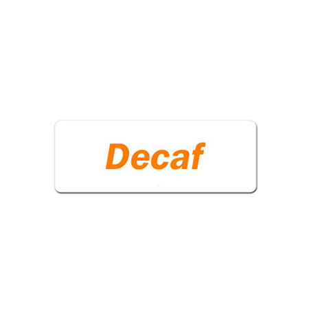 Decaf Magnetic Identification Tag for Coffee Servers