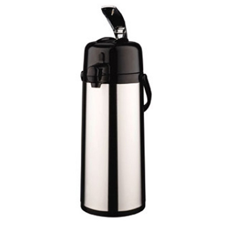 2.2 Liter Heavy Duty Glass Lined Stainless Steel Airpot with Lever