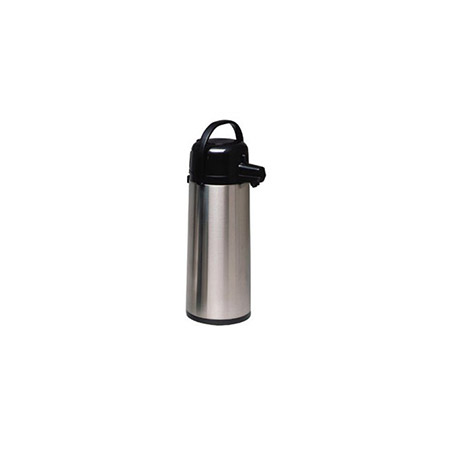 2.5 Liter Heavy Duty Glass Lined Stainless Steel Airpot with Pump