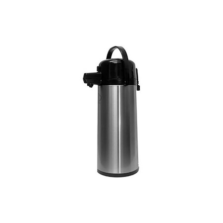 2.5 Liter Heavy Duty Glass Lined Stainless Steel Airpot with Lever