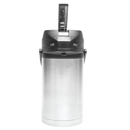 Service Ideas 3.0 Liter Heavy Duty Stainless Steel Airpot with Lever