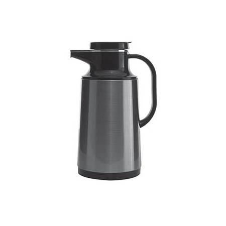 1.6 Liter Stainless Steel Insulated Vacuum Beverage Server with Glass Liner