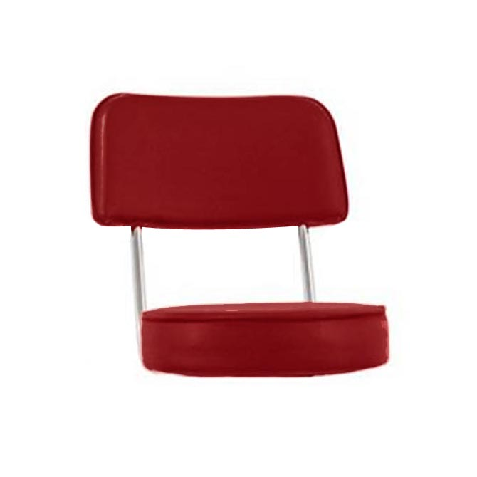 Red Replacement Bar Stool Seat