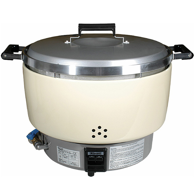 Best Rice Burner Cars On Gas: Rinnai 55-Cup Natural Gas Rice Cooker RER55ASN