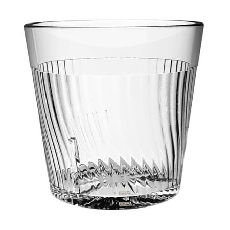 Thunder Group Belize 8 oz. Clear Poly Tumbler Glass