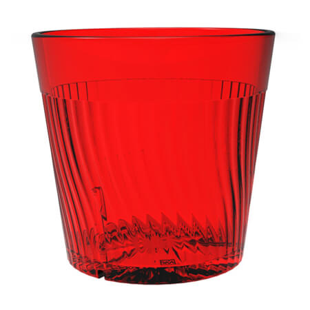 Thunder Group Belize 8 oz. Red Poly Tumbler Glass