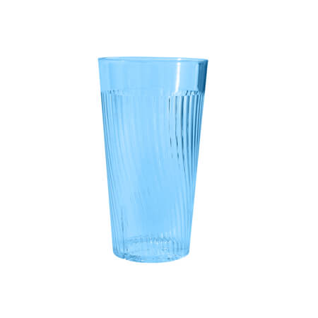 Thunder Group Belize 10 oz. Blue Poly Tumbler Glass