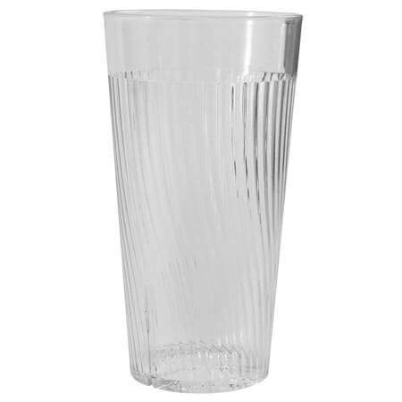 Thunder Group Belize 16 oz. Clear Poly Tumbler Glass