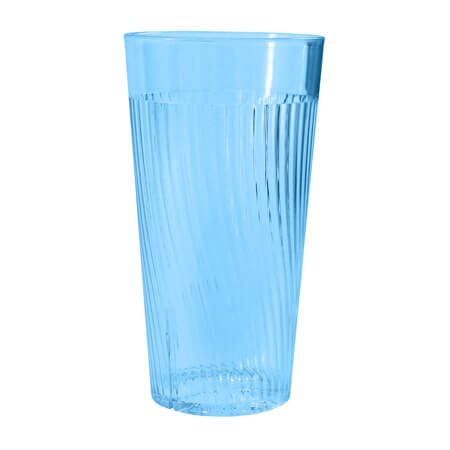Thunder Group Belize 24 oz. Blue Poly Tumbler Glass