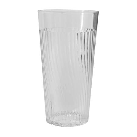 Thunder Group Belize 24 oz. Clear Poly Tumbler Glass
