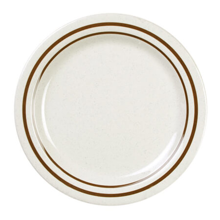 "Thunder Group Arcadia 10-1/4"" Melamine Dinner Plate"