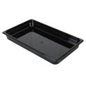Thunder Group Full Size Black Food Pan 2-1/2\x22 Deep