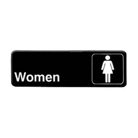 "Thunder Group Women Wall Sign 3"" x 9"""