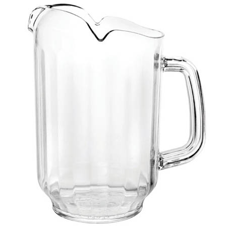 Thunder Group 64 oz. Clear Poly Beverage Pitcher