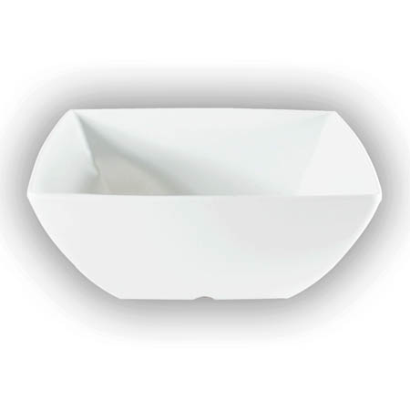 "LaSalle Manor Prestige 40 oz. Classic White 7-1/8"" Square Bowl"