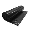 56-Gallon 1.6 Mil Black Trash Can Liner Bag 43\x22 x 42\x22