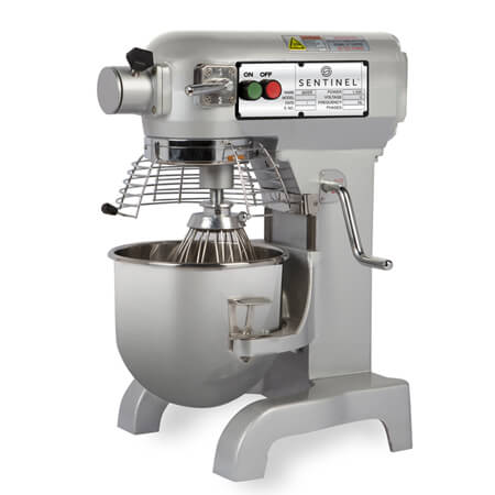 Sentinel 10-Quart 3-Speed 0.5 HP All-Purpose Mixer