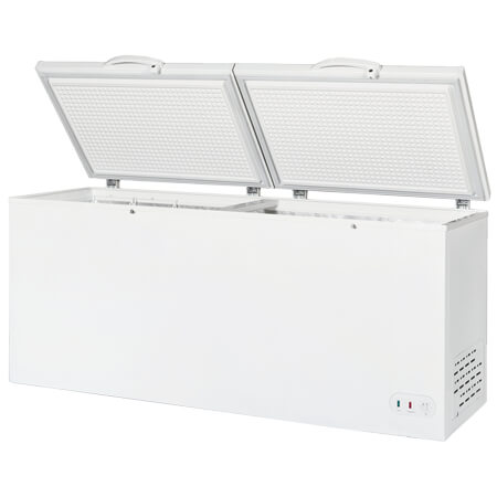 "Berg 30 cu. ft. Split Top Chest Freezer 76""W"