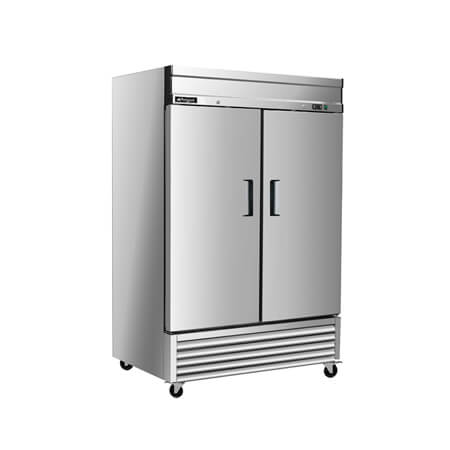 "Argus 49 cu. ft. 2-Door Bottom Mount Reach-In Freezer 54""W"