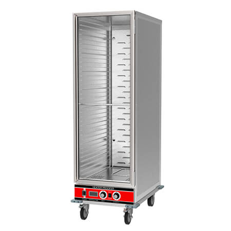 "Sentinel 36-Pan Insulated Clear Door Heater Proofer Cabinet 22-7/8""W"