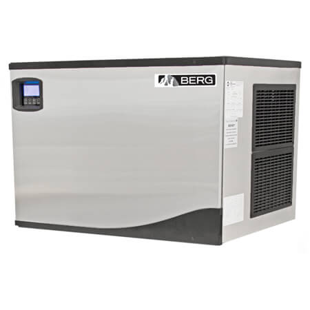 "Berg Half Dice 361 lb. Air Cooled Ice Machine 30""W"