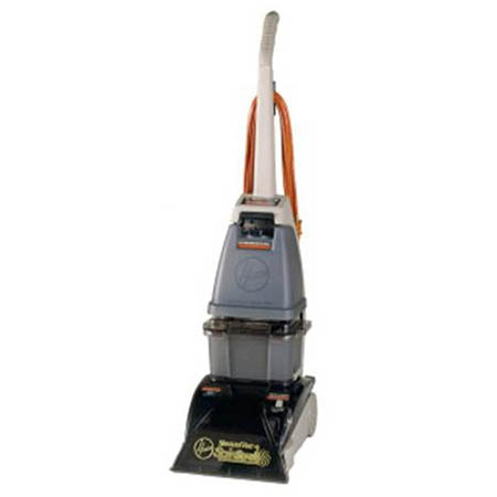 "Hoover Commercial 11"" Steam Cleaner with 2-Speed Motor and Five Rotating Brushes"