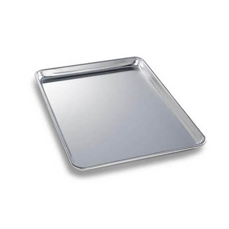 "Chicago Metallic 1/2-Size Glazed Aluminum Sheet Pan 18"" x 13"""