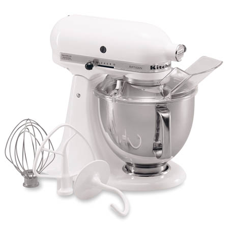 "KitchenAid Artisan Series 5 Quart Mixer with Pouring Shield 9-3/10""W"