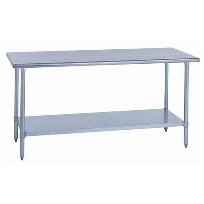 Inch W X Inch L Stainless Steel Work Table - 6ft stainless steel table