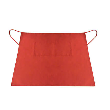 Ritz 2-Pocket Red Bistro Apron