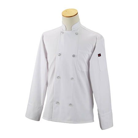 Kitchen Wears™ Medium 8-button White Chef Coat