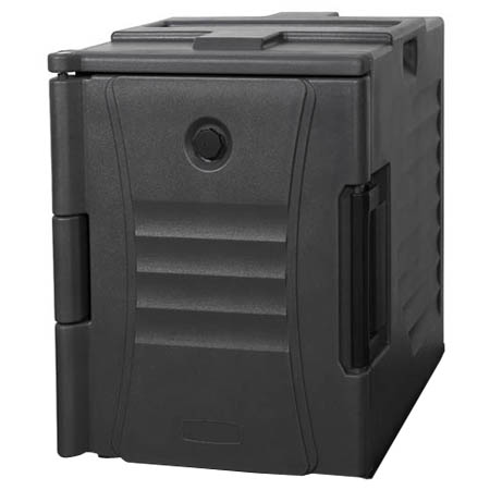 Bradford Hall Gray Insulated Front Loader Food Carrier