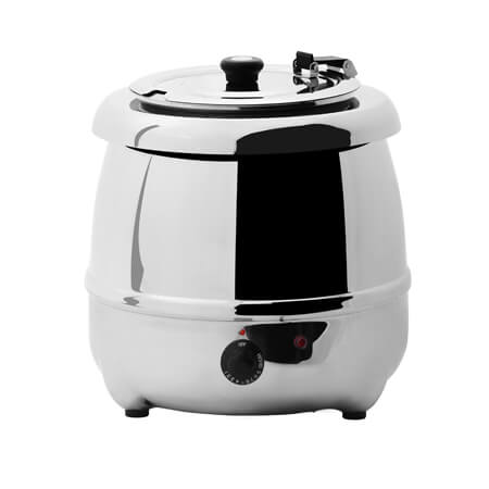Sentinel 10.5-Quart Stainless Steel Electric Soup Kettle Warmer