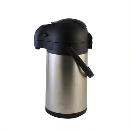 Bradford Hall 2.2-Liter Stainless Steel Airpot with Lever