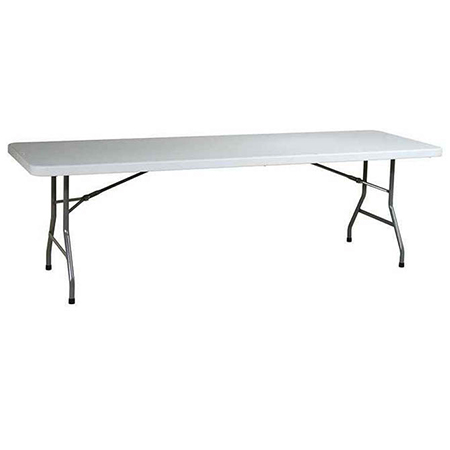 Modesto 8' Molded Plastic Folding Table