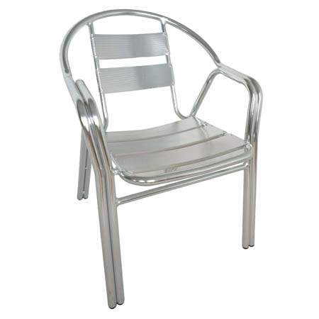 Modesto Aluminum Patio Bistro Chair