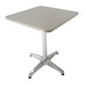 Modesto 27-1/2\x22 Square Aluminum Patio Bistro Table