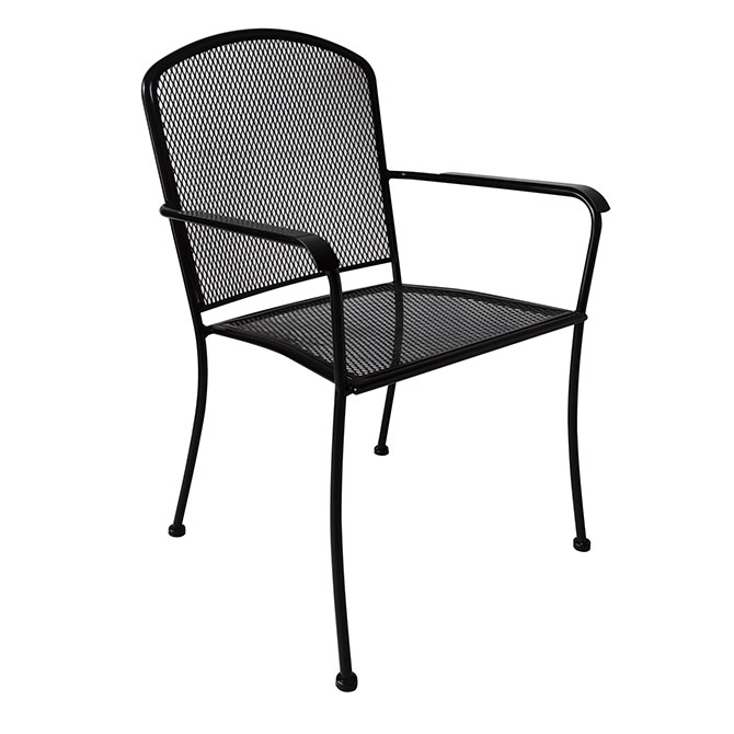 Modesto Wrought Iron Patio Chair