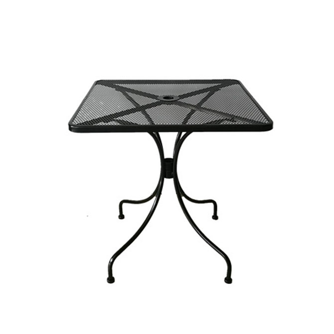 30 Square Wrought Iron Patio Table