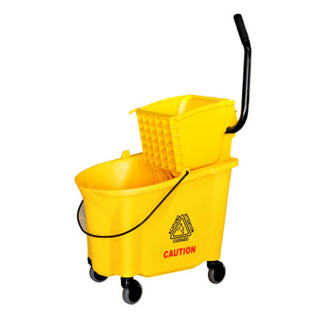 38-Quart Mop Bucket with Sidepress Wringer
