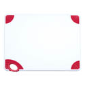 Winco Red Cutting Board with Hook for Meat 15