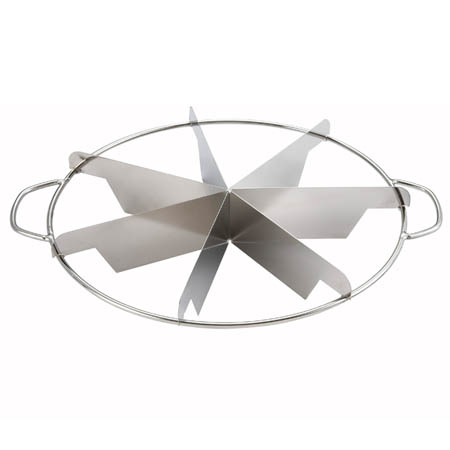Winco 7 Cut Size Stainless Steel Pie Cutter