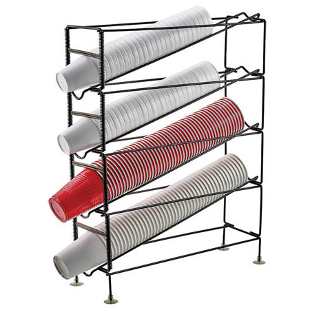 Winco 4-Tier Cup Dispenser for 8 to 44 oz. Cups